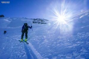 ski raid Mont Rose randonnée Valais Suisse