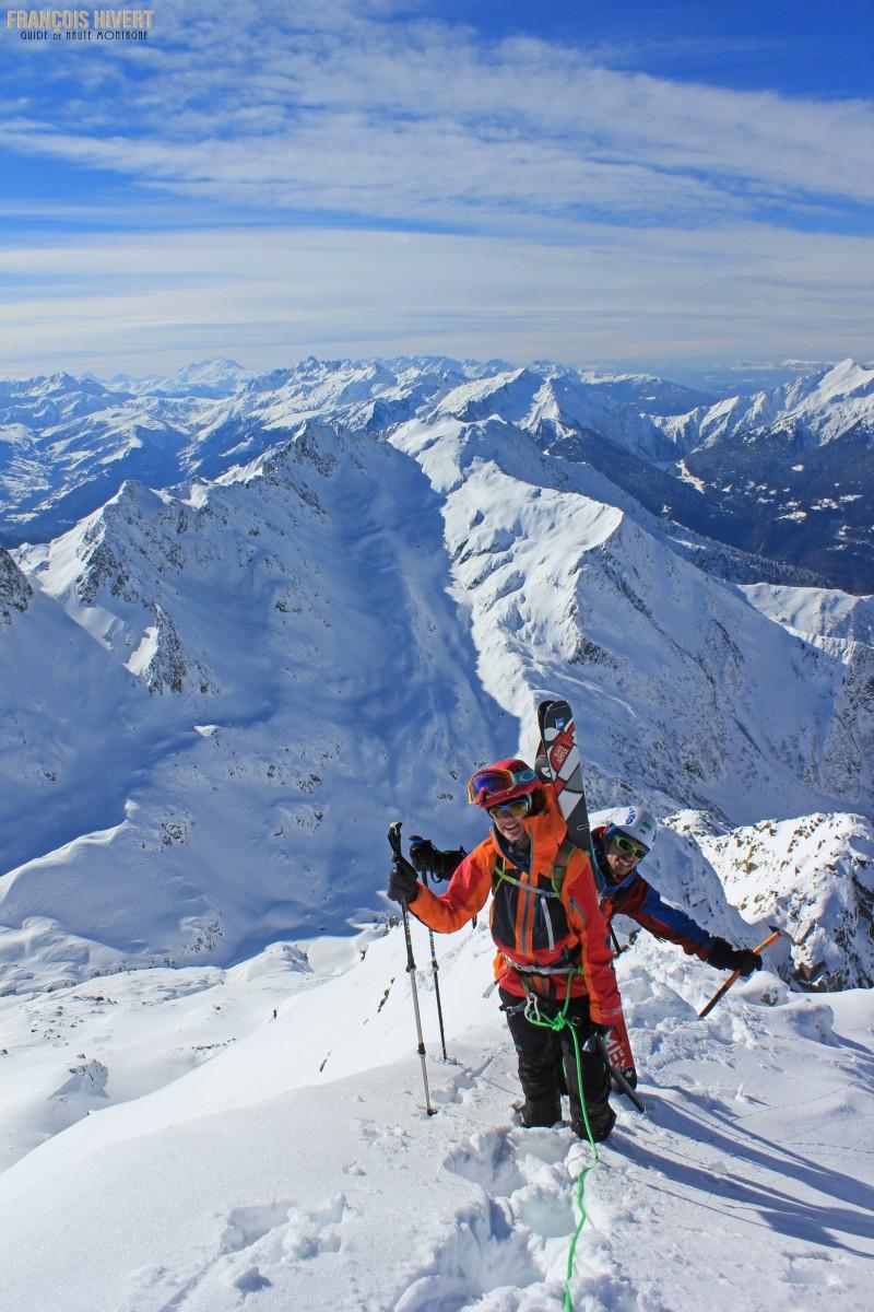 Crédit 3 Arête ouest Grand Mont Sylvie et Eddy