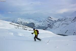 roche Parstire ski randonnée Beaufortain