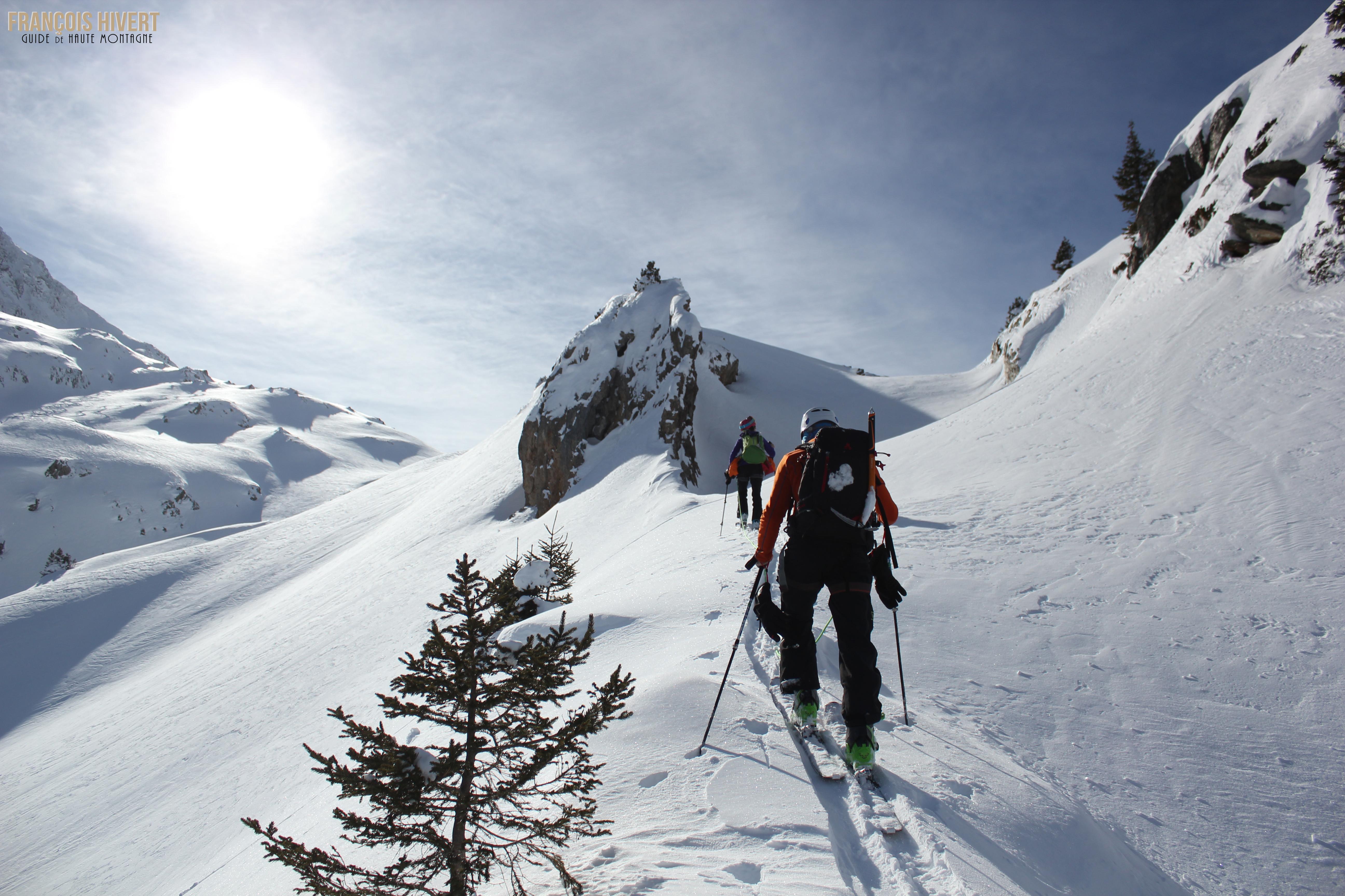 Crédit 4 Arête ouest Grand Mont Sylvie et Eddy