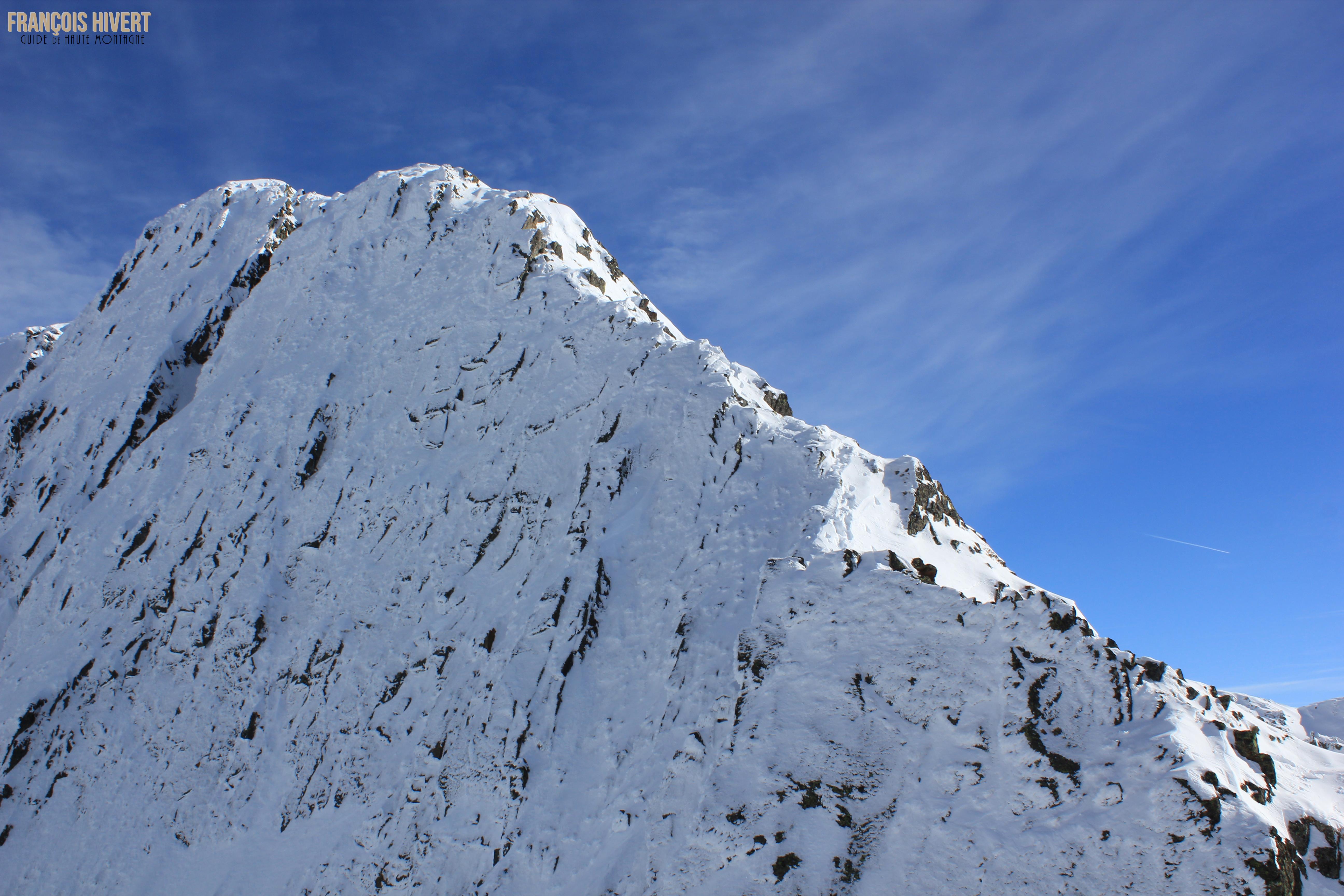 Crédit 7 Arête ouest Grand Mont Sylvie et Eddy
