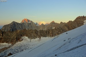 Mont Dolent voie normale alpinisme escalade Suisse Mont Blanc