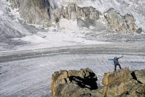 Arête Rabouin alpinisme escalade argentière Mont Blanc