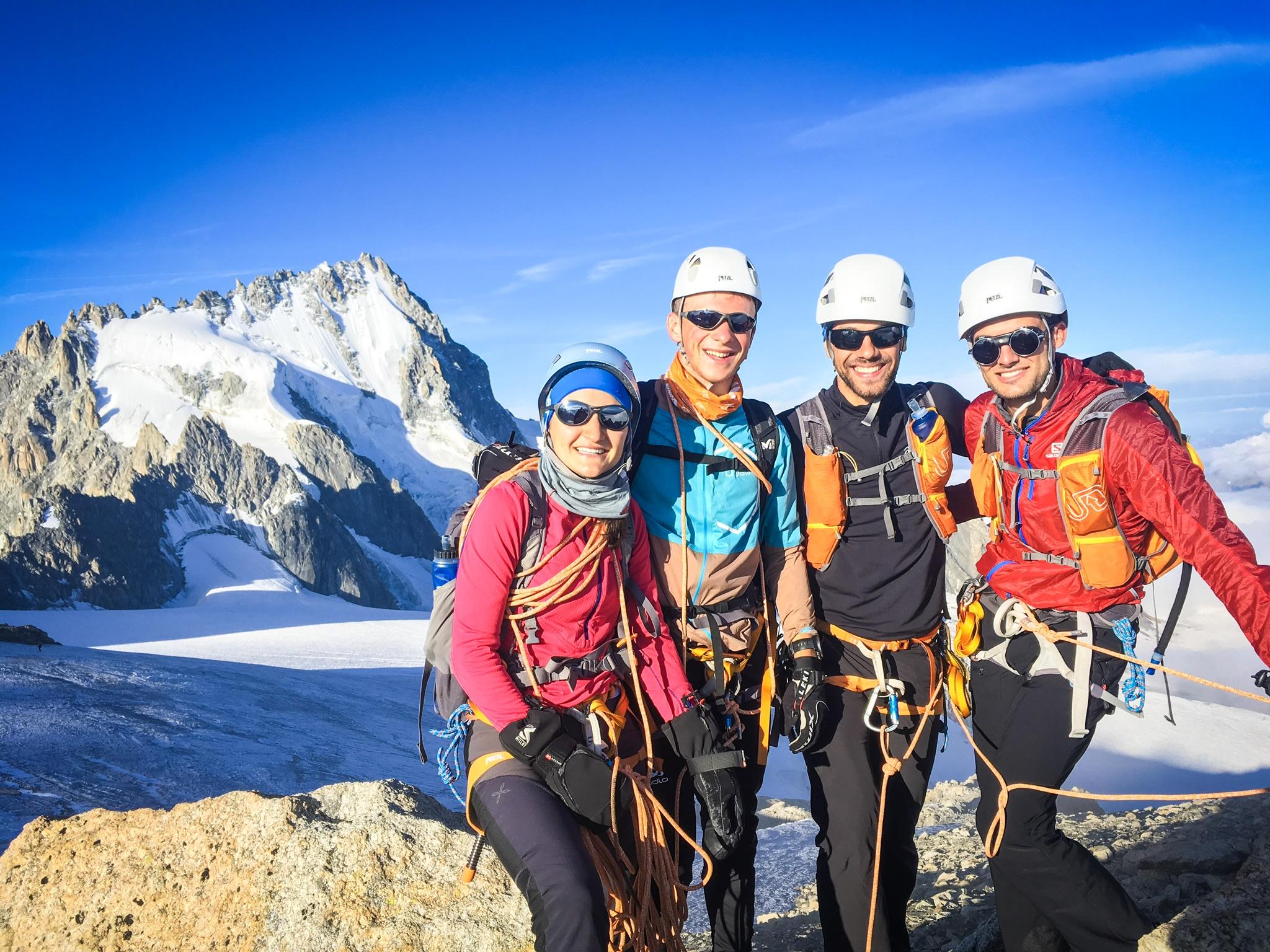Stage alpine running Tête Blanche 4