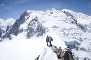 Arête Cosmique Mont Blanc alpinisme escalade