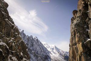 Aiguille M voie normale alpinisme Mont Blanc escalade