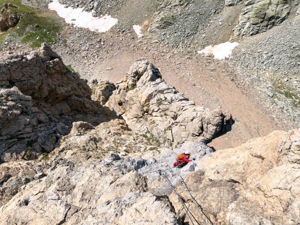 Aiguille de la Nova Beaufortain escalade alpinisme Beaufortain pilier Sud Ouest