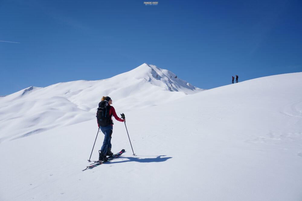 Beaufortain pointe du Riondet Ski de rando ski de randonnée Arêches Beaufort splitboard