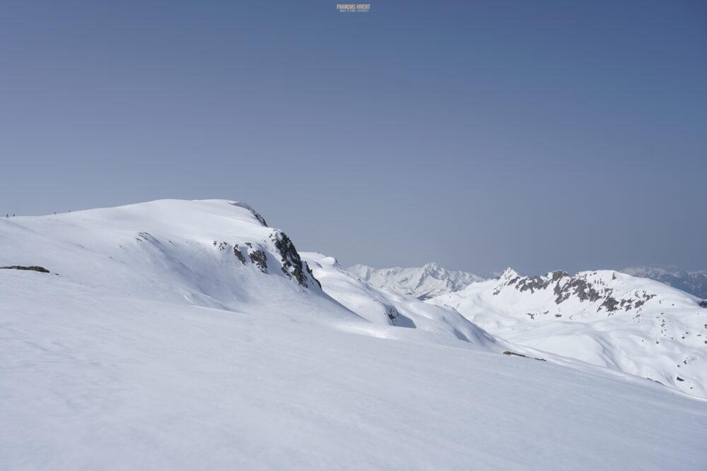 Rocher des Enclaves Beaufortain ski de randonnée ski de rando Arêches Beaufort la Girotte