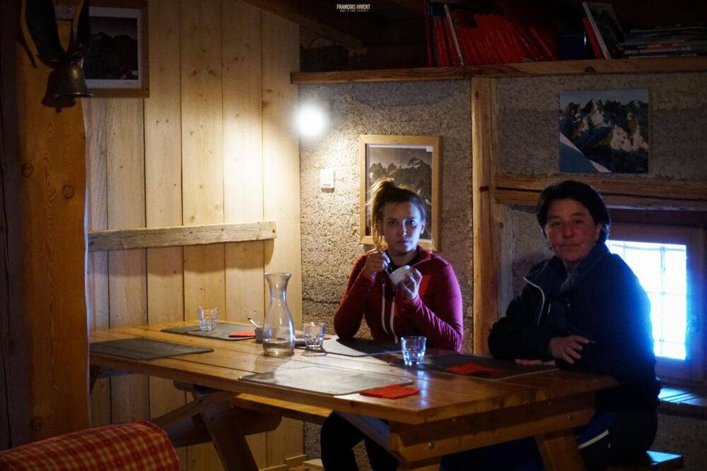 Refuge de Chamoissière Villar d'Arène ski de randonnée ski de rando Oisans Ecrins Les Agneaux Brèche de la plate des Agneaux Arsine