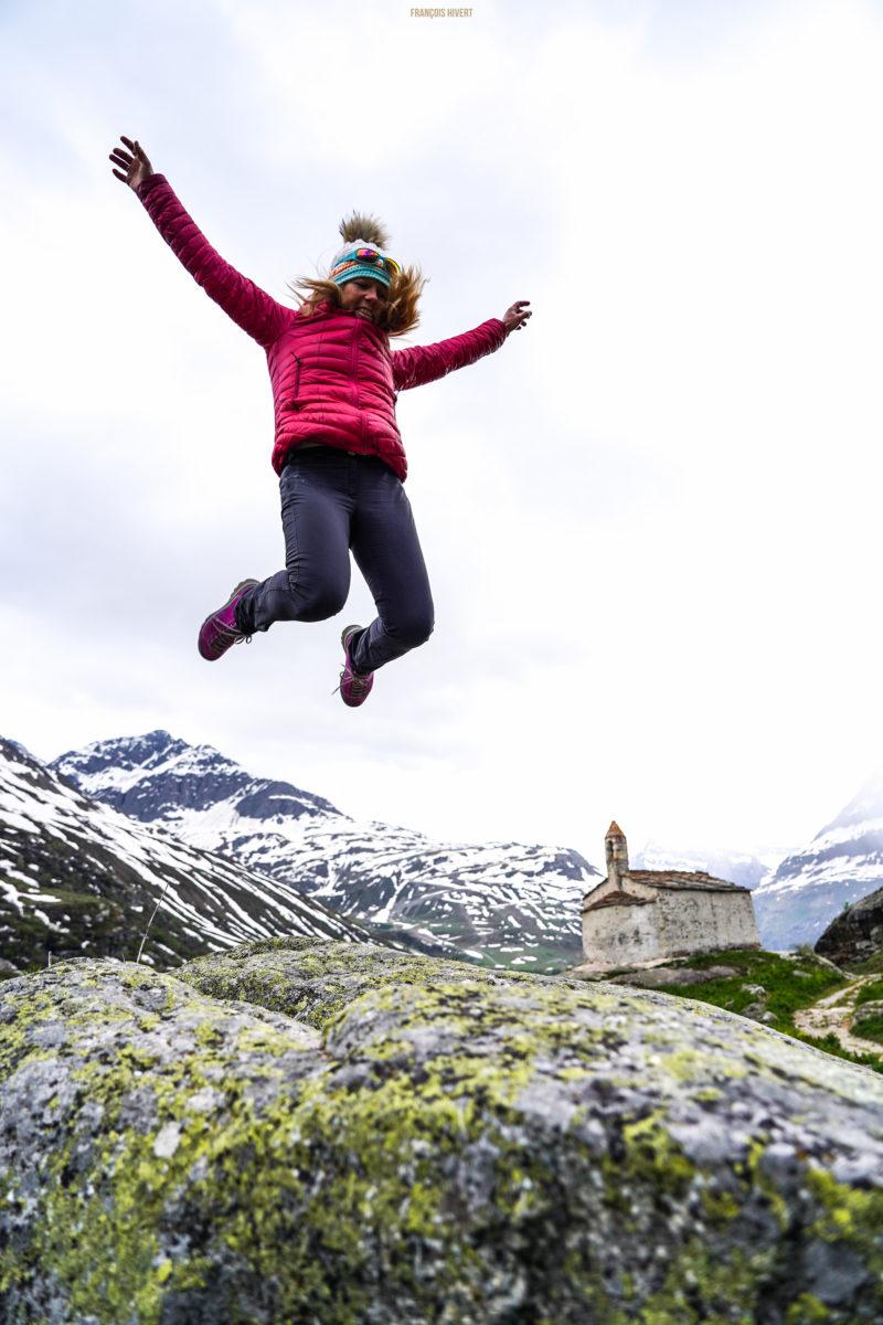 village l'ecot ski de randonnée vanoise rando