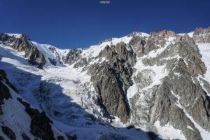 Mont Blanc refuge Gonella alpinisme glacier Dôme du Gouter Piton des Italiens arête des Bosses Miage