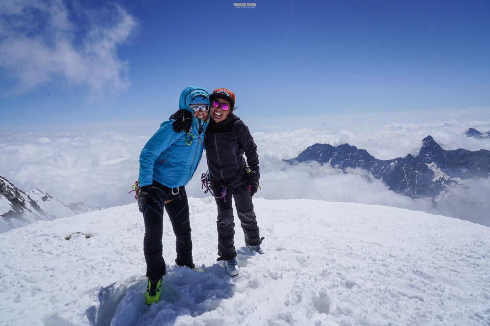 ski de rando vanoise pointe francesetti bonneval