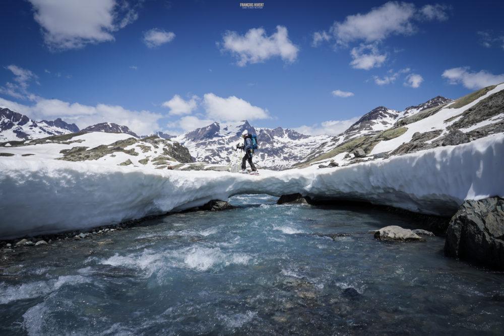ski de rando vanoise pointe francesetti bonneval albaron grande ciamarella