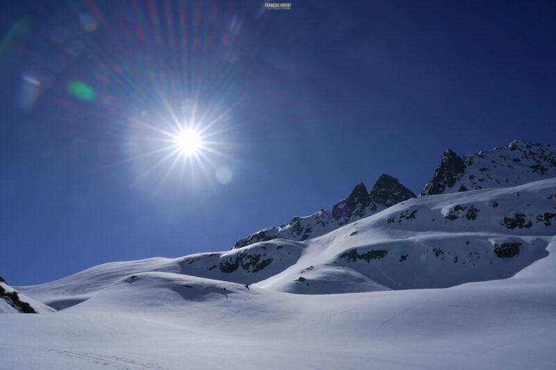 Beaufortain montagne de Comborsier les Besaces Ski de rando ski de randonnée Arêches Beaufort
