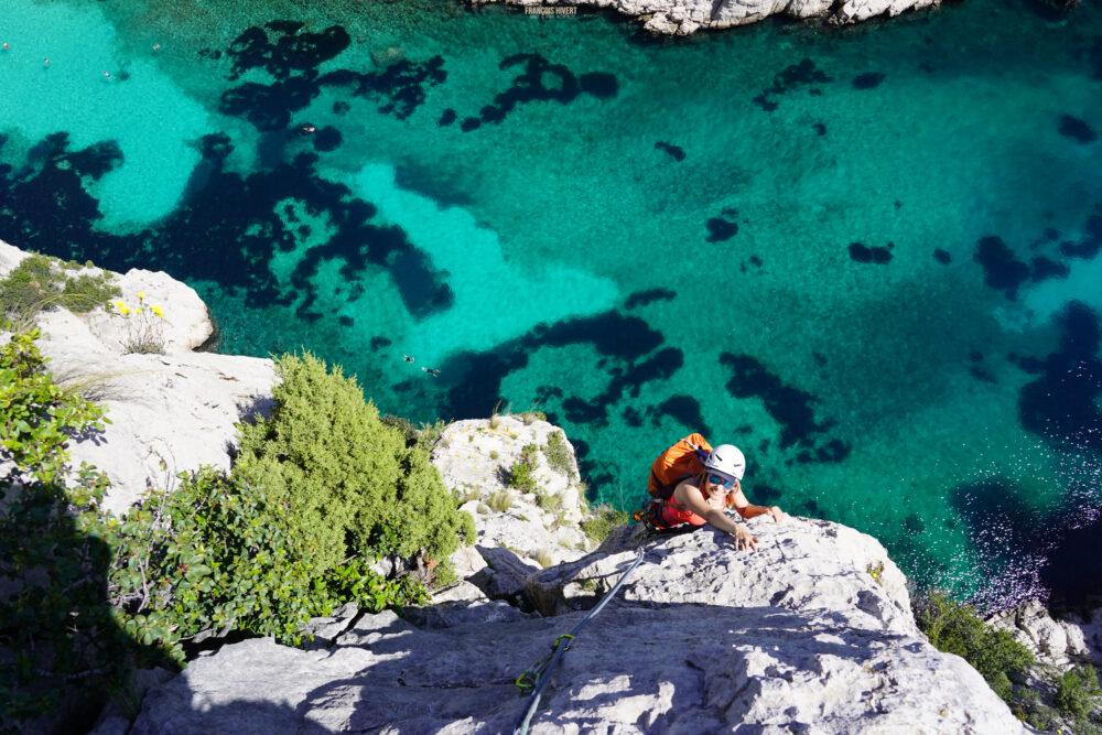 Les Calanques En Vau Cassis escalade la Calanque Marseille