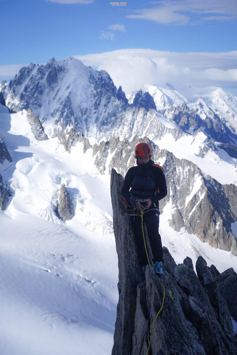 Aiguille du Tour Arête de la Table Chamonix Massif du Mont Blanc refuge Albert 1er alpinisme escalade course d'arête