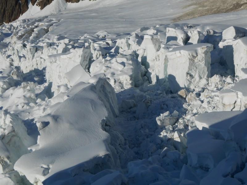 Sérac glacier des Bossons