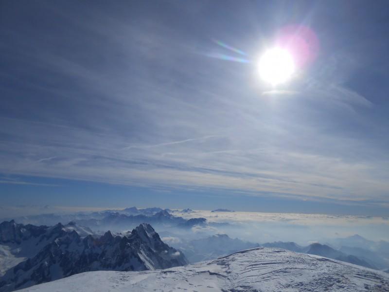Sommet Mont Blanc côté Italie