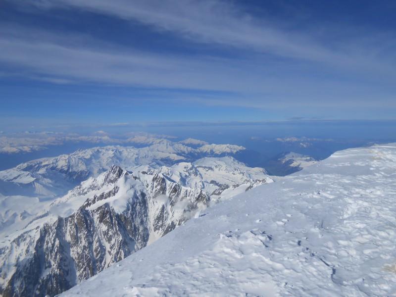 Sommet Mont Blanc côté Beaufortain