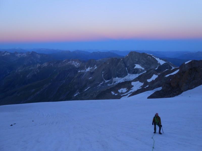 Aiguille des Glaciers Arête sud