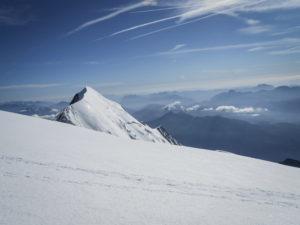 Mont Blanc refuge du Goûter arête des Bosses alpinisme voie normale