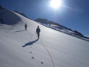 Dôme des Glaciers Alpinisme Vanoise Beaufortain refuge Robet Blanc glacier des Glaciers les Lanchettes