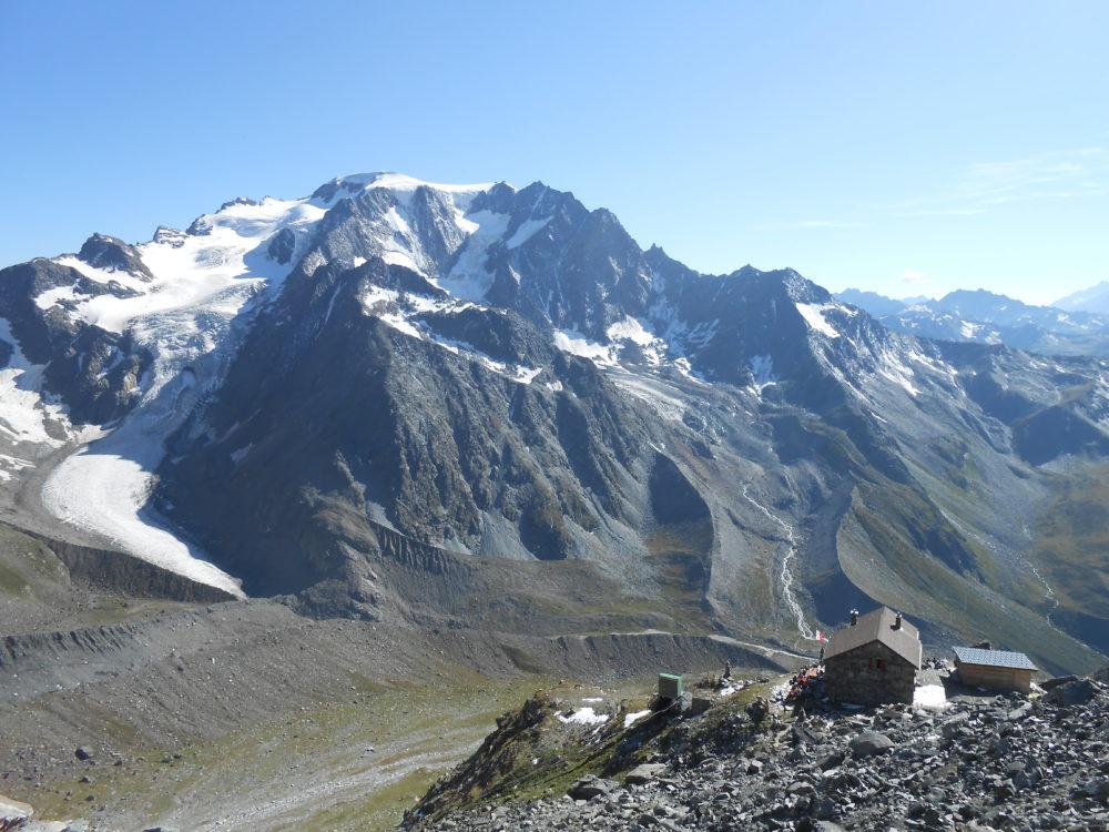 Grand Combin arête du Meitin cabane de Valsorey Grafeneire alpinisme Valais escalade