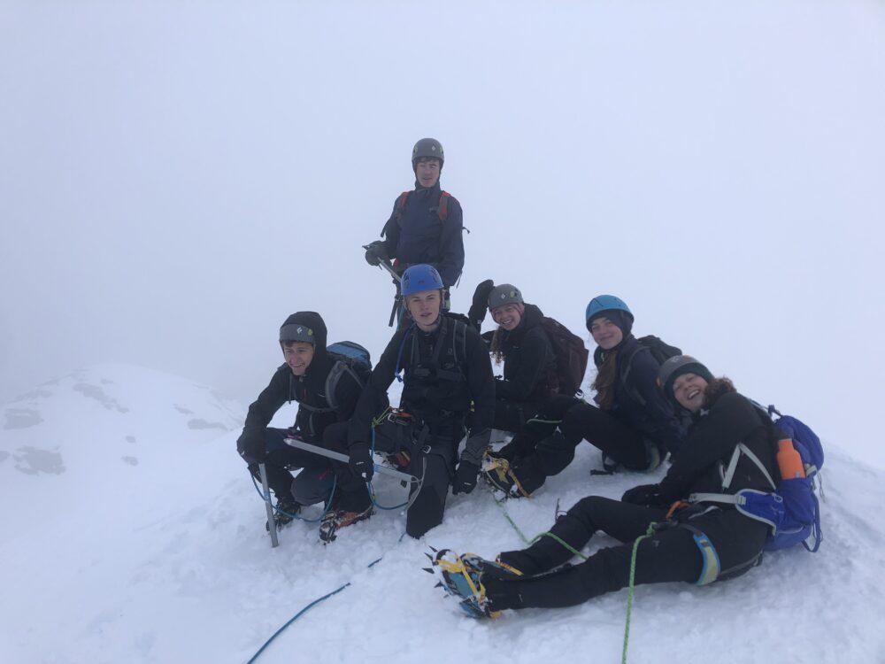 Alpinisme refuge Conscrits glacier Tré-la-Tête Mont Blanc Chamonix