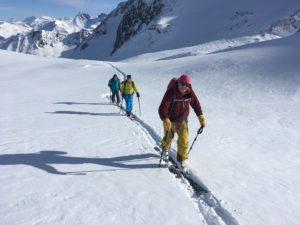 Pointe du Dard ski de randonnée Beaufortain