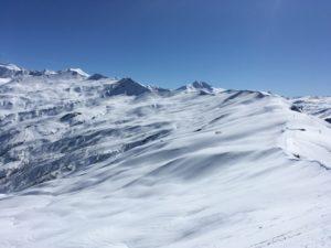 Les Acrays ski de randonnée Beaufortain