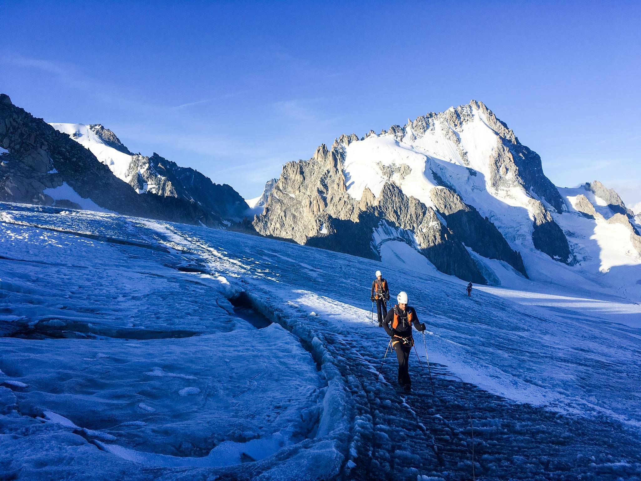 Stage alpine running Tête Blanche 3