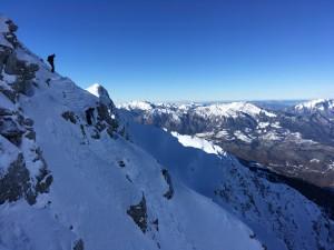 legette Mirantin roche Plane ski randonnée Beaufortain