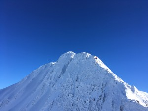 Grand Mont Arête ouest alpinisme Beaufortain ski randonnée