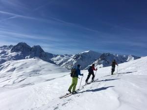 Formation ski randonnée Chamoniarde Mont Blanc