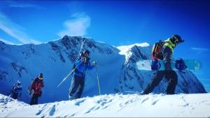ski hors piste freeride snowboard Arêches Beaufortain