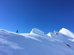 Comborsier ski randonnée Beaufortain