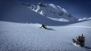 Freeski Tête Rouge Beaufortain Arêches freeride hors piste