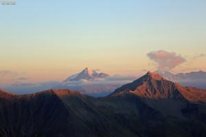 Dômes glaciers alpinisme escalade Beaufortain massif Mont Blanc